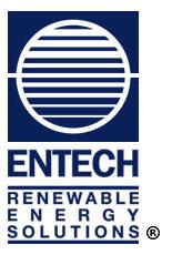 Entech – Renewable Energy Solutions